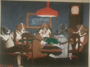 Dogs Playing Poker - 2005